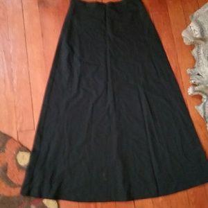 Dresses & Skirts - Long Black Skirt Size 6